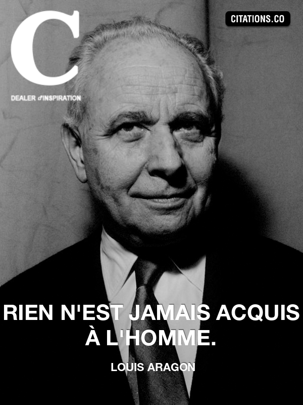Citation de louis aragon-16640988