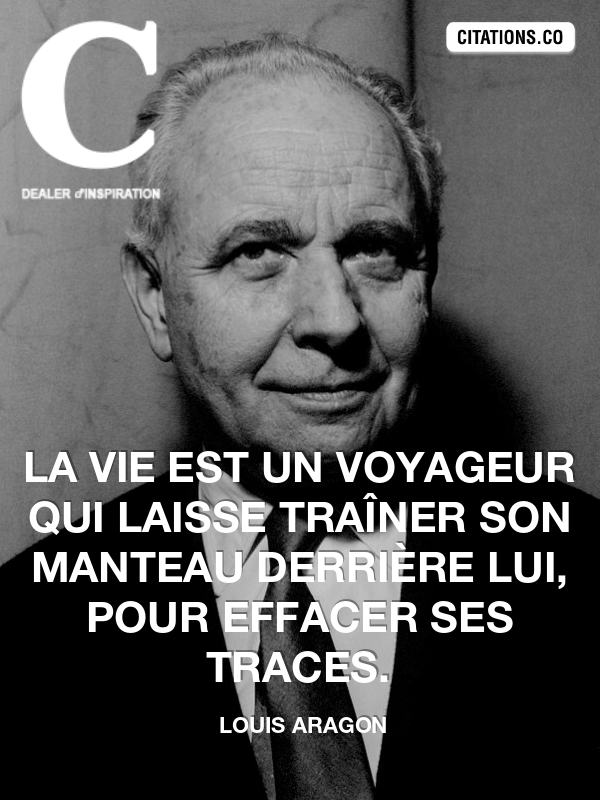 Citation de Louis Aragon
