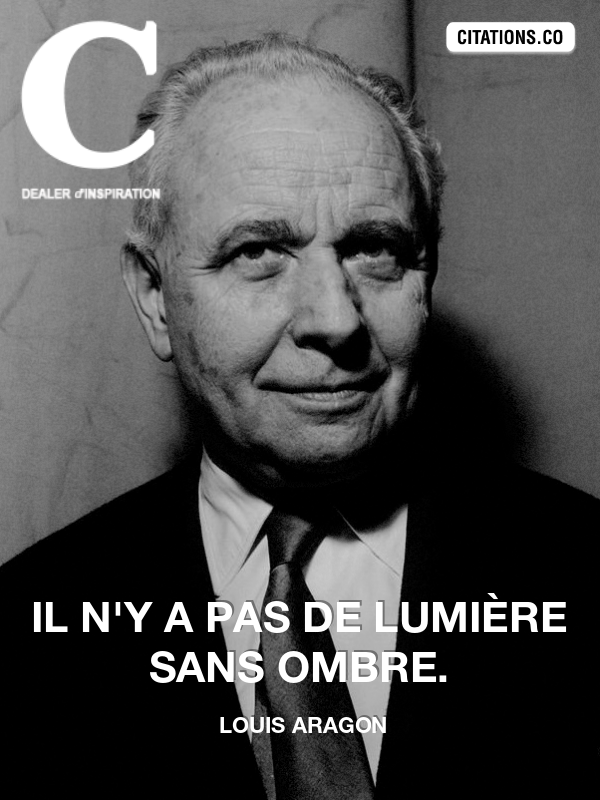 Citation de louis aragon-57992