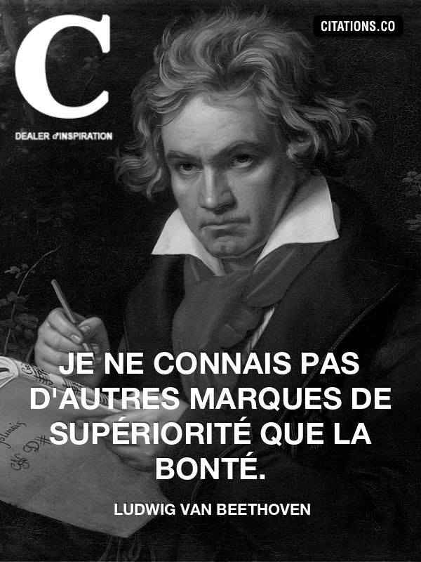 Citation de ludwig van beethoven-42973650