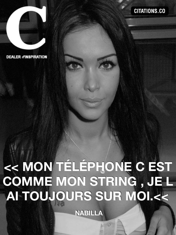 Citation de nabilla-22590720
