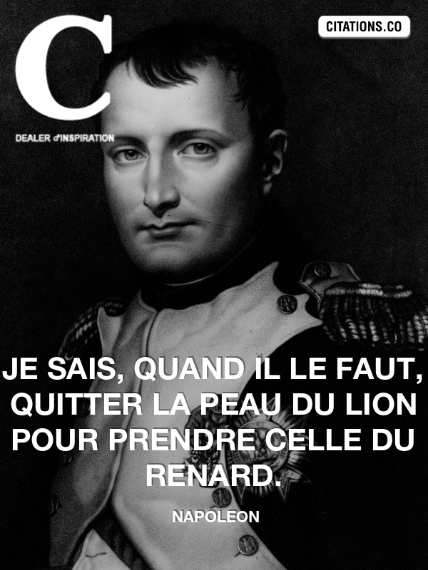 Citation de napoleon-10934000