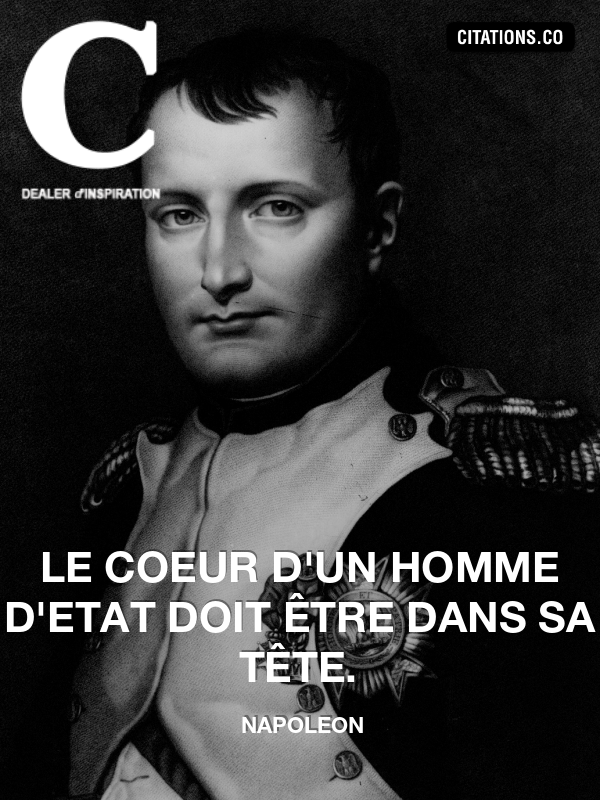 Citation de napoleon