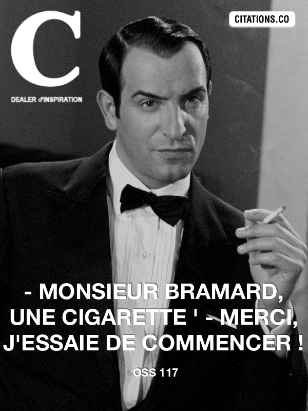 Citation de OSS 117