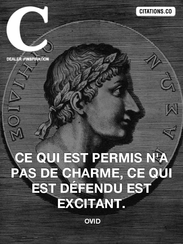 Citation de ovid