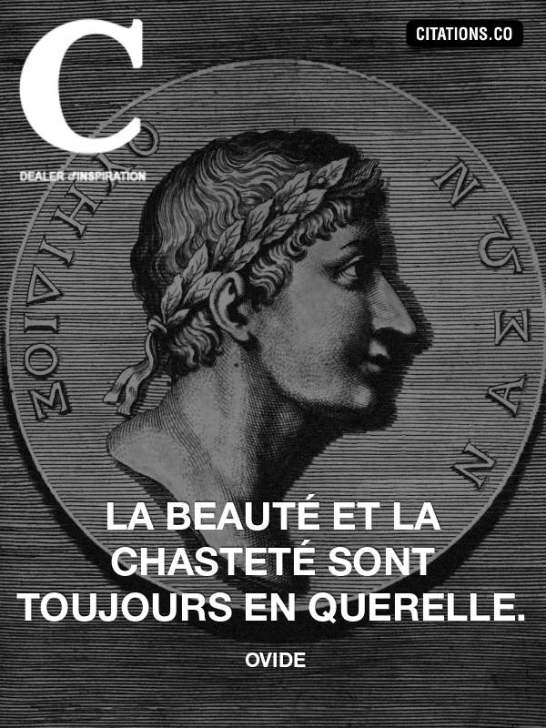 Citation de ovide