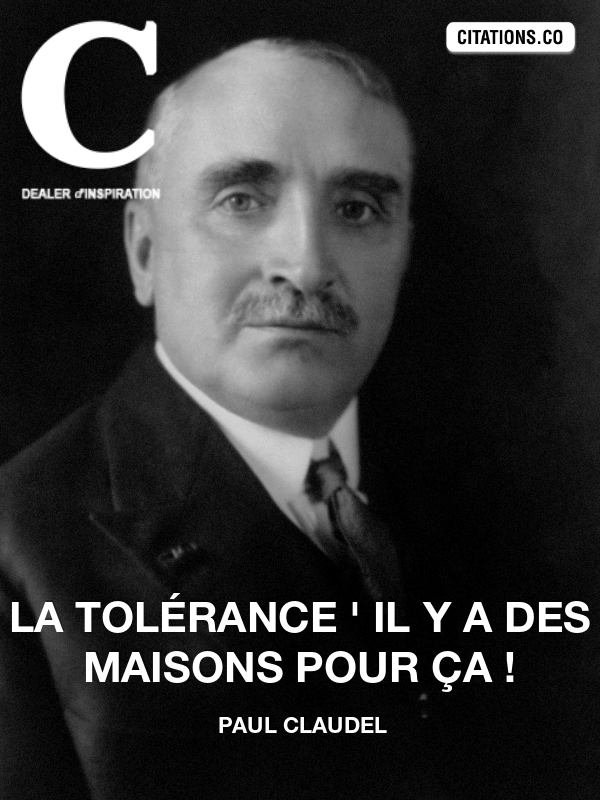 Citation de paul claudel-3496064