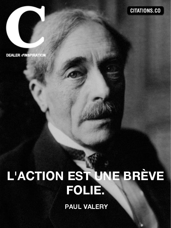Citation de paul valery-1925658