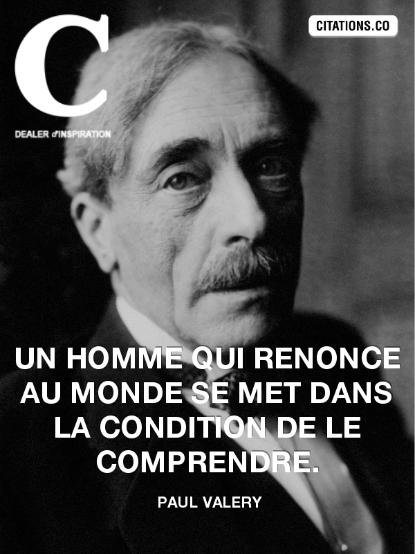 Citation de paul valery