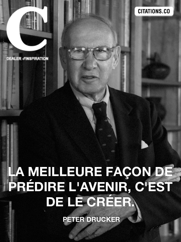 Citation de peter drucker