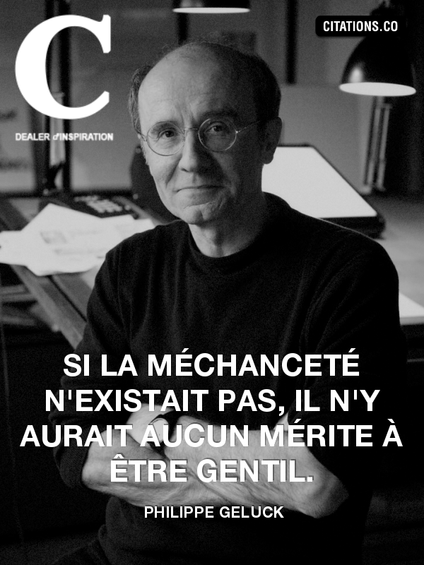 Citation de Philippe Geluck