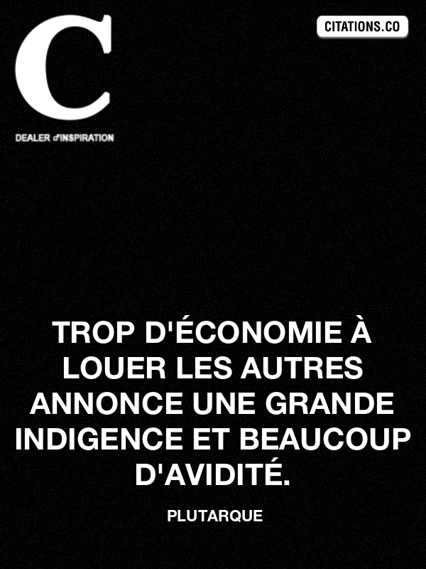 Citation de plutarque