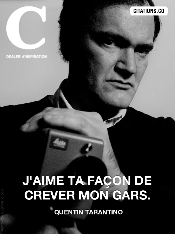 Citation de quentin tarantino-9666720