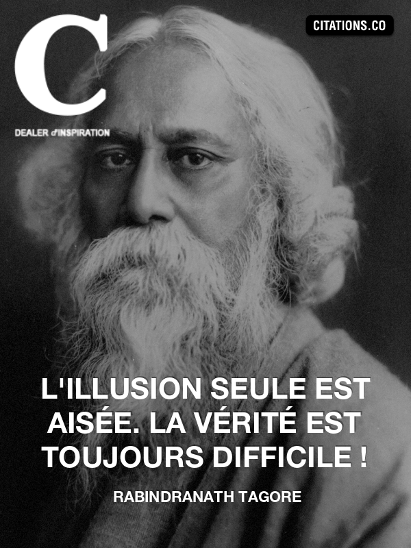 Citation de rabindranath tagore-10408450
