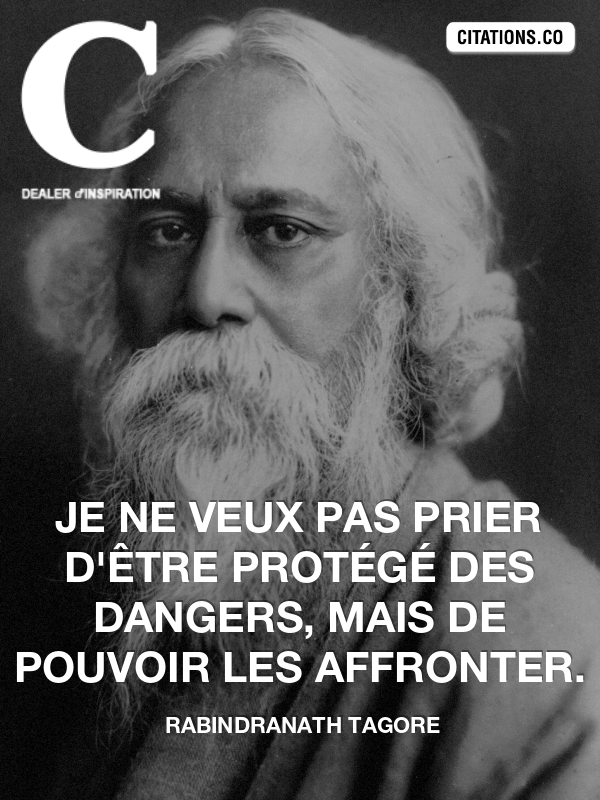Citation de rabindranath tagore