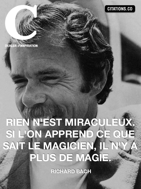 Citation de richard bach