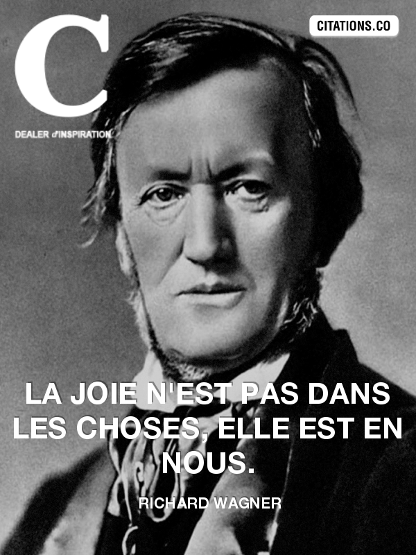 Citation de Richard Wagner