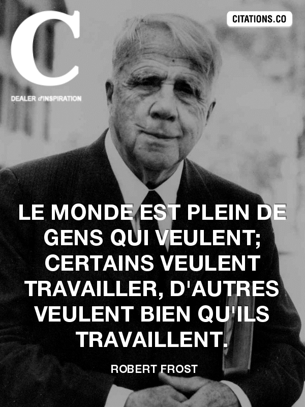 Citation de robert frost-2532662