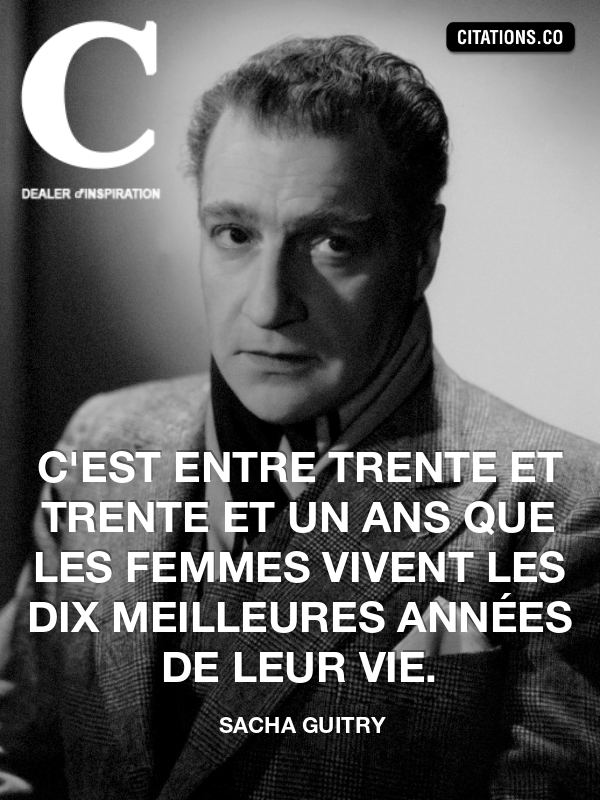 Citation de sacha guitry-8542400