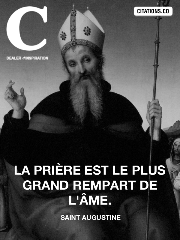 Citation de saint augustine-129500