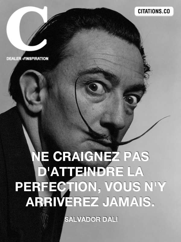 Citation de salvador dali-4594200