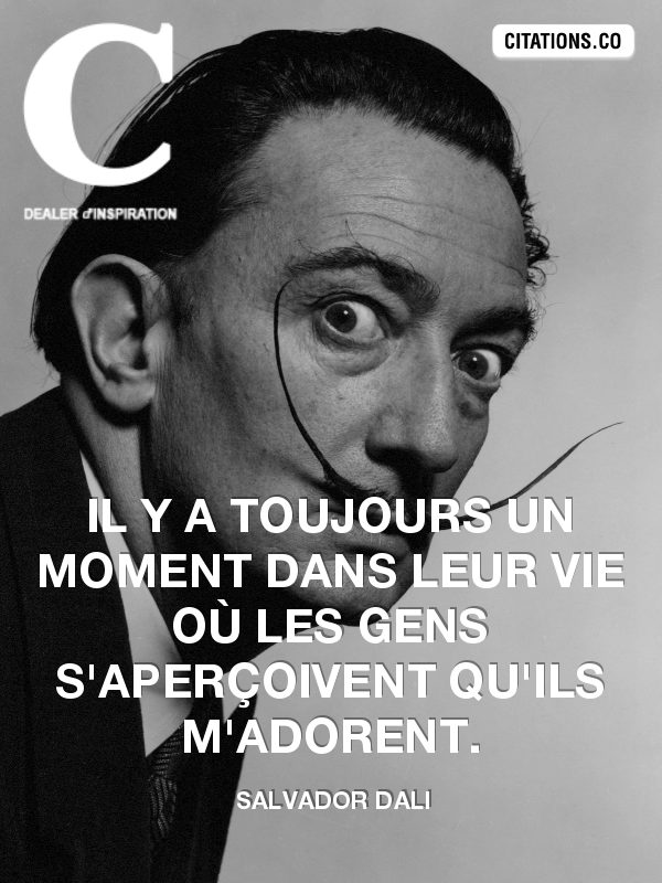 Citation de salvador dali-6440368