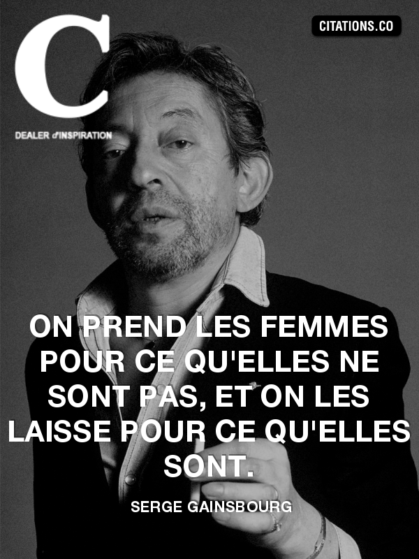 Citation de serge gainsbourg-3490536
