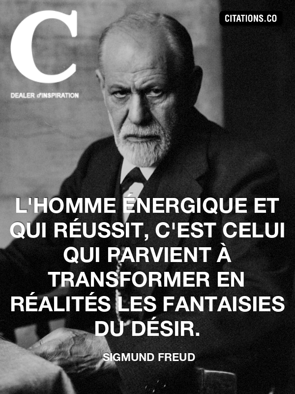 Citaten Freud : Citation de sigmund freud n°