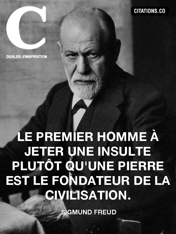 Citation de sigmund freud-2074420