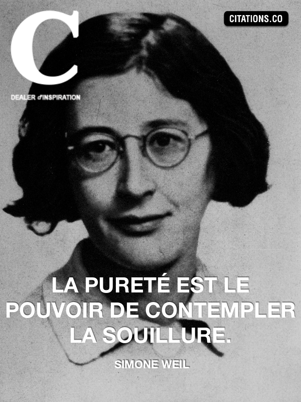Citation de simone weil-9410358