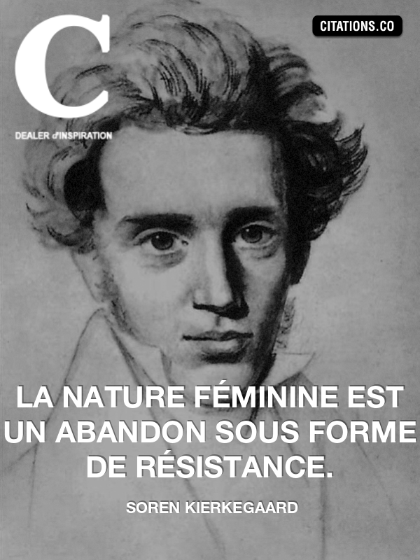 Citation de soren kierkegaard