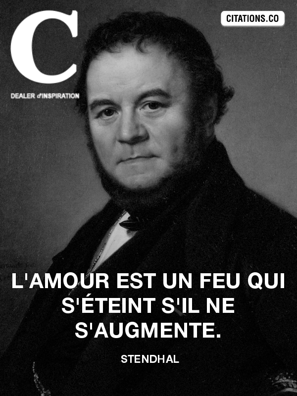 Citation de stendhal-2731806