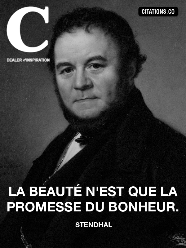 Citation de stendhal-3113280
