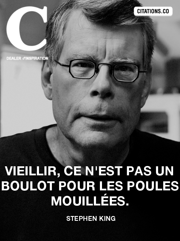 Citation de Stephen King