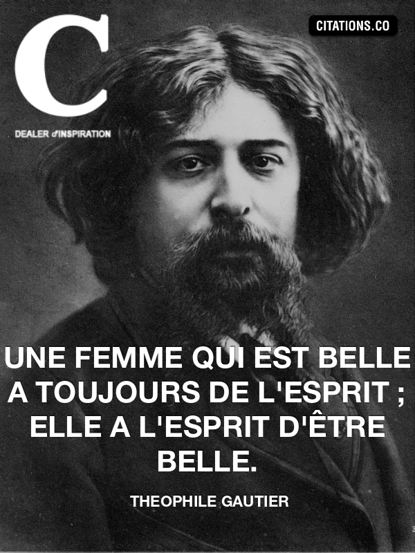 Citation de theophile gautier-12830616