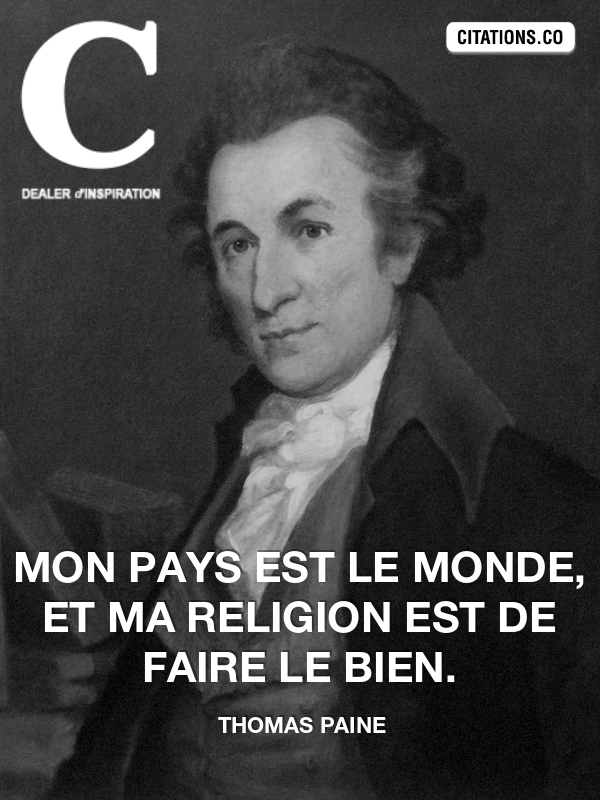 Citation de thomas paine-9051354