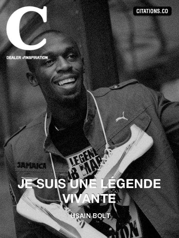 Citation de usain bolt