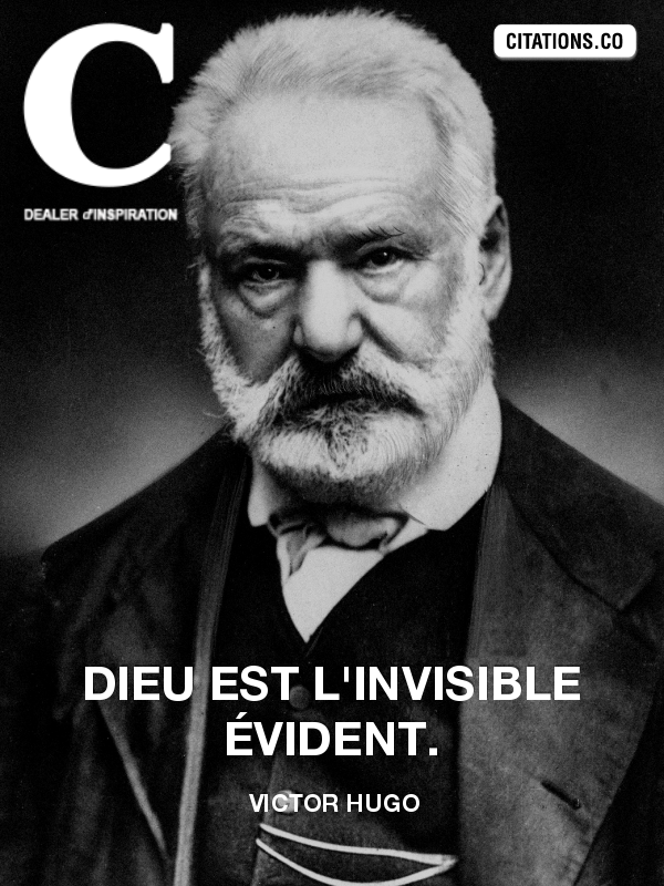 Citation de Victor Hugo